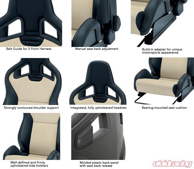 recaro sportster cs right seat black nardo. Black Bedroom Furniture Sets. Home Design Ideas