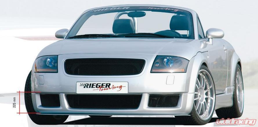 Rieger Rs4 Look Front Spoiler Audi Tt 8n 00 06 Image