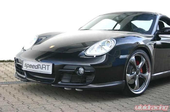 Speedart Rs Carbon Front Lip Spoiler Porsche Cayman 06 08
