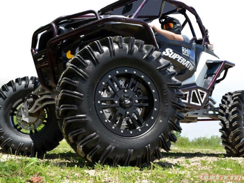 SuperATV Mounted Tires Intimidator w/Bandit H Wheel 28x10-14 Tire Size