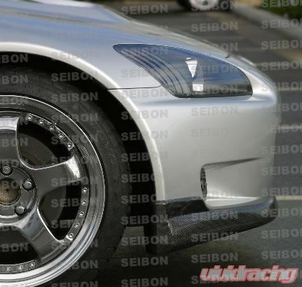 Seibon Front Carbon Fiber OEM Style Lip Spoiler Honda S2000 00-03