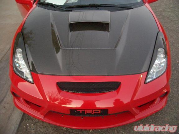 Seibon Carbon Fiber Vsii Style Hood Toyota Celica 00 05