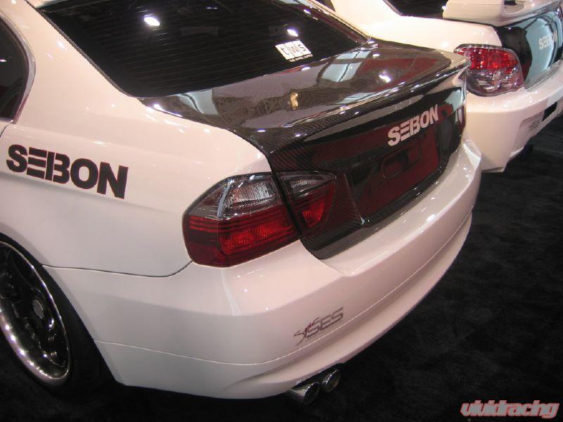 Seibon Carbon Fiber Csl Style Trunk Lid Bmw E90 4dr 05 07