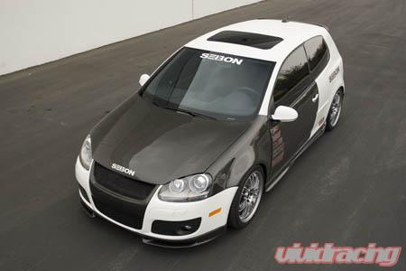Seibon Front Carbon Fiber Fenders Volkswagen Golf Gti 06 08