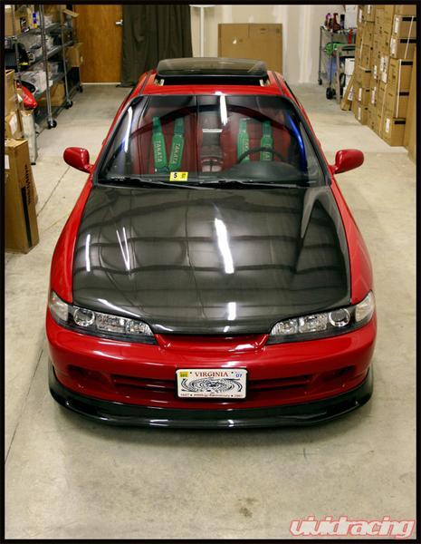 Seibon Front Carbon Fiber Sp Style Lip Spoiler Acura