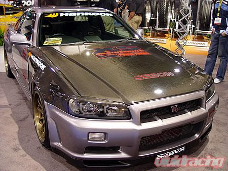 Seibon Front Carbon Fiber Fenders Ns Style Nissan Skyline