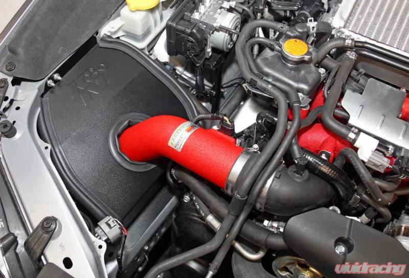 K/&N 69 Series Typhoon Black Air Intake System for 15-17 Subaru WRX 2.0L H4 Turbo