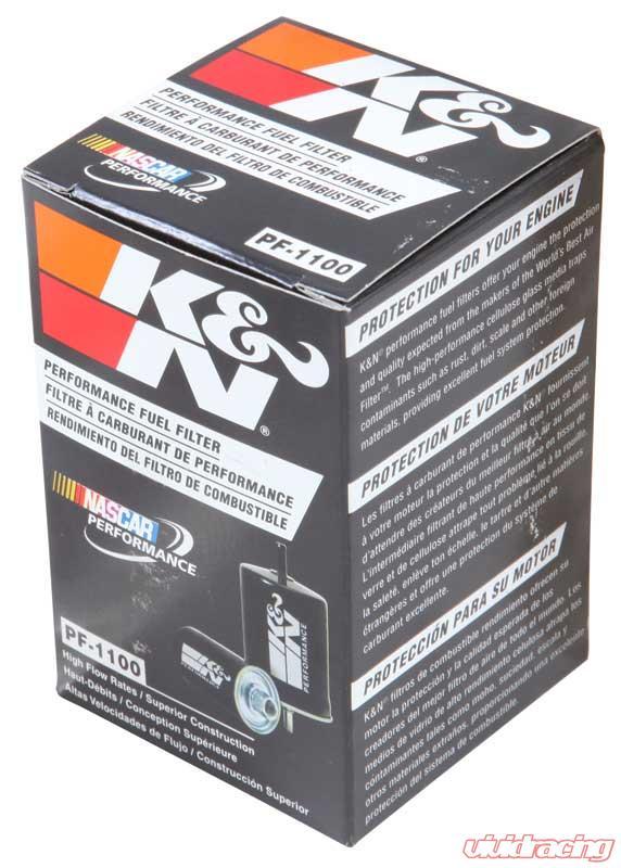 K/&N PF-1100 Carbon Steel Housing Fuel Filter for Xterra//Pathfinder//Maxima//Sentra
