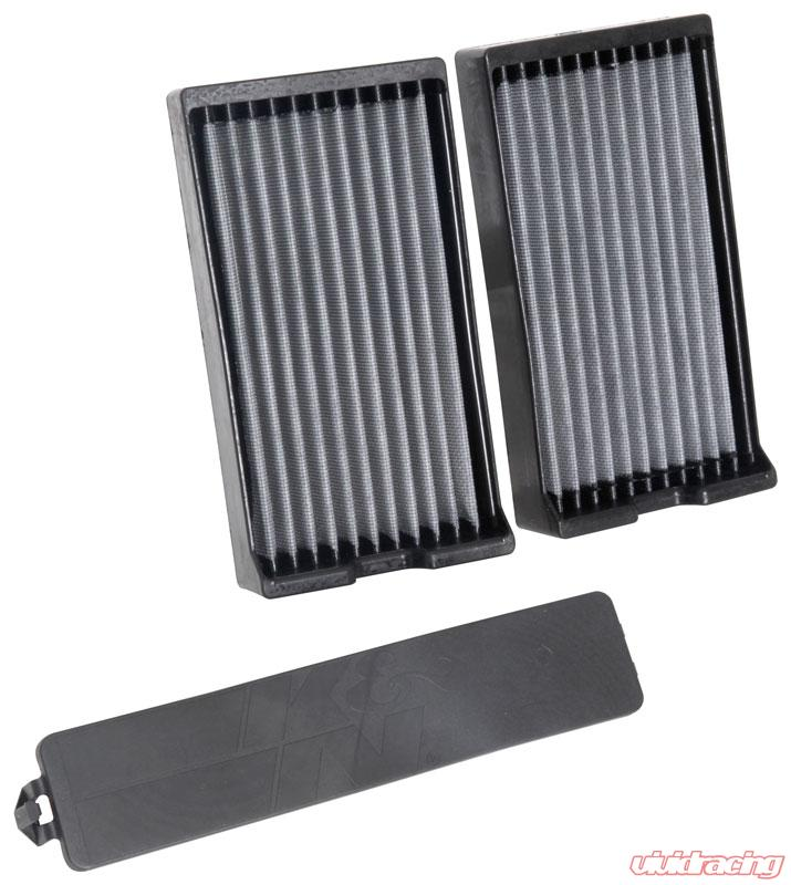 Fits Nissan Titan 2017-2019 5.6L K/&N High Flow Replacement Air Filter