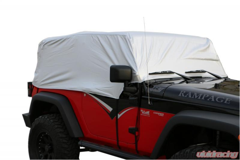 Rampage Cab Cover Multiguard Water Repellent Jeep Wrangler 2007-2017