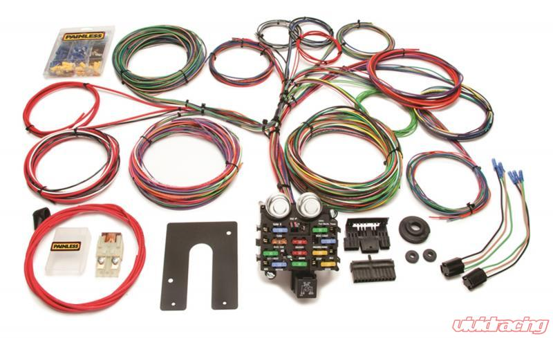 painless wiring harness and chassis painless wiring classic customizable pickup chassis harness key in  customizable pickup chassis harness key