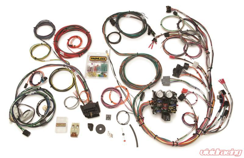 Painless Wiring Direct Fit Jeep YJ Harness (1987-1991)-23 Circuits Jeep  Wrangler 1987-1991 | 10111Vivid Racing