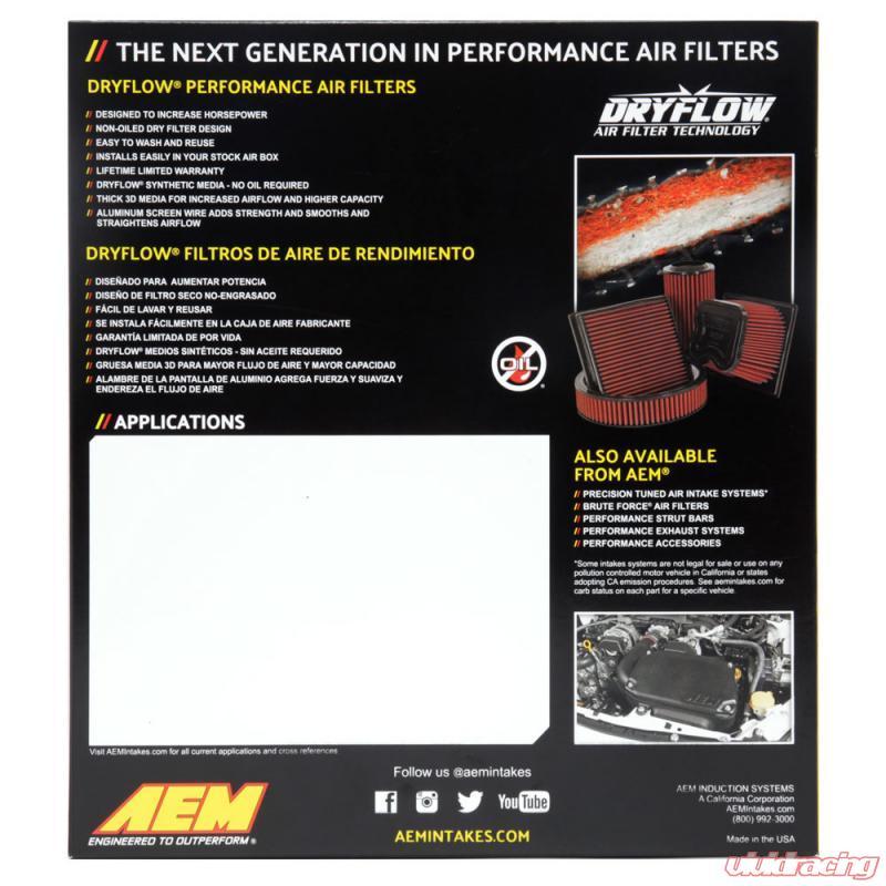 AEM 05-10  Pontiac G5 Dryflow Panel Air 28-20311