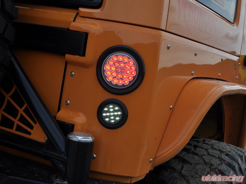 poison spyder jk led tail \u0026 reverse lights \u0026 wiring harness kit jeep wrangler 2007 2018  light mounts for 07 18 jeep wrangler jk