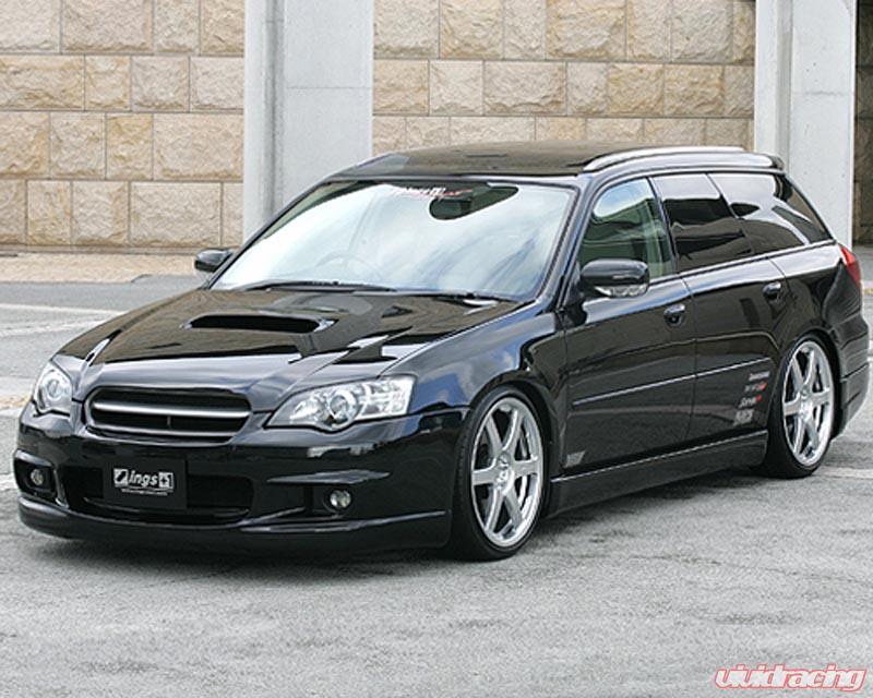 INGS LX Sport 3 pc Body Kit FRP Subaru Legacy BP5 A~C 04-06