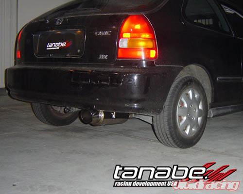 Tanabe Medalion Concept G Catback Exhaust Honda Civic Hatchback 9600 T80018 Image: 1998 Honda Civic Hatchback Exhaust At Woreks.co