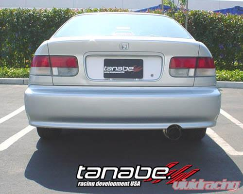 tanabe medalion concept g catback exhaust honda civic si 99 00 image1