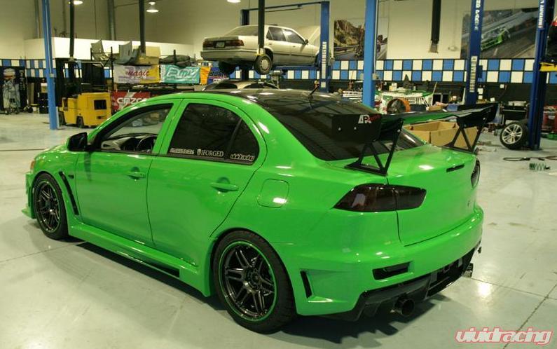 Evo X Valdi Sport Body Kit Evolutionm Mitsubishi Lancer And Lancer Evolution Community