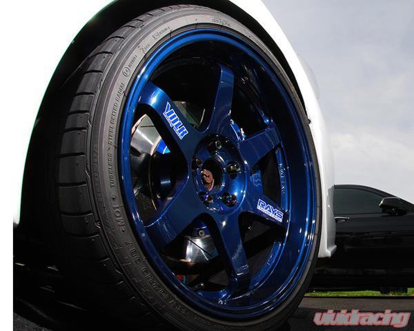 Instock clearance wheels by volk advan weds agency power vivid volk racing te37sl mag blue wheel set 1895 mitsubishi evo x 08 sciox Choice Image