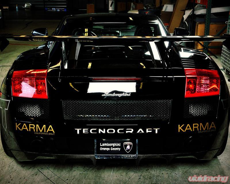 Tecnocraft Dry Carbon Fiber Gt Wing Lamborghini Gallardo 04 12