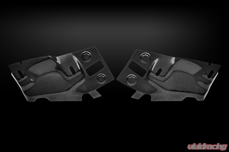 Tecnocraft Dry Carbon Fiber Envy Headlight Access Cover Bmw M3 E90