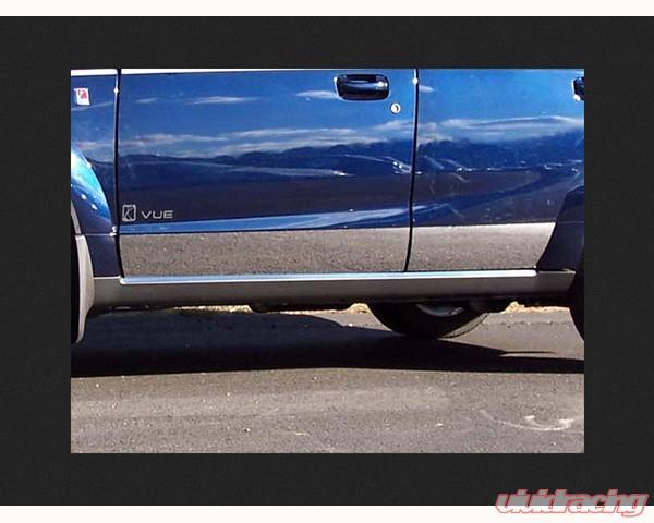 Quality Automotive Accessories 4 Piece Rocker Panel Accent Trim Kit Saturn Vue 2003 Th43441