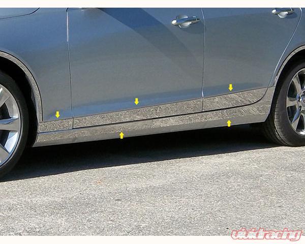 th53237 | quality automotive accessories 10-piece rocker panel trim