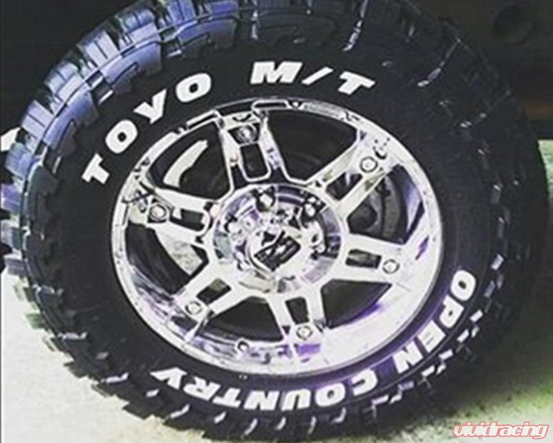 Toyo Tires White Letters >> Tire Stickers Toyo Tires Open Country Permanent Raised Rubber Lettering