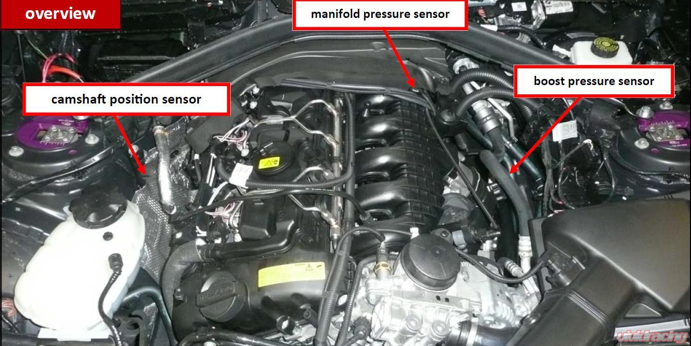 Vr Tuned Ecu Tuning Box Kit Bmw 335i F30 F35 225 Kw 306 Ps