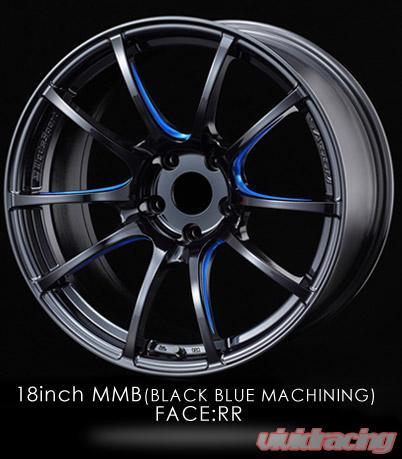 Instock clearance wheels by volk advan weds agency power vivid weds sport sa 55m wheel set 1980 5100 50 black machine blue subaru wrx sciox Choice Image