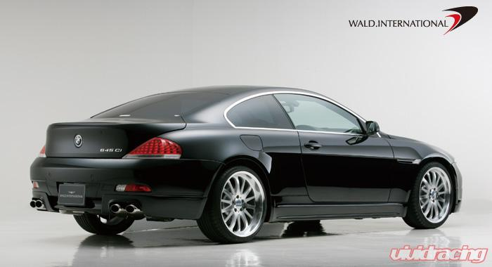 wald international rear bumper bmw 6 series e63 04 07. Black Bedroom Furniture Sets. Home Design Ideas