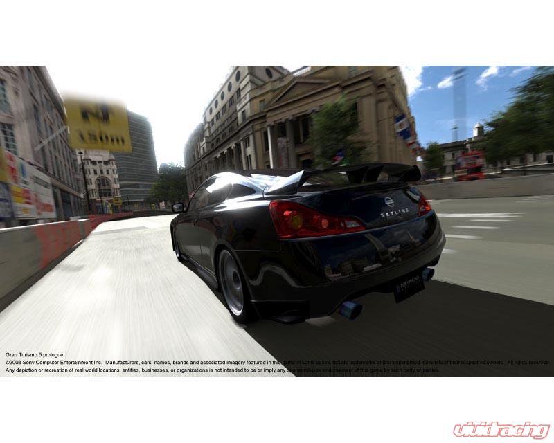 Zele Performance GT Rear Bumper Infiniti G37 08-12