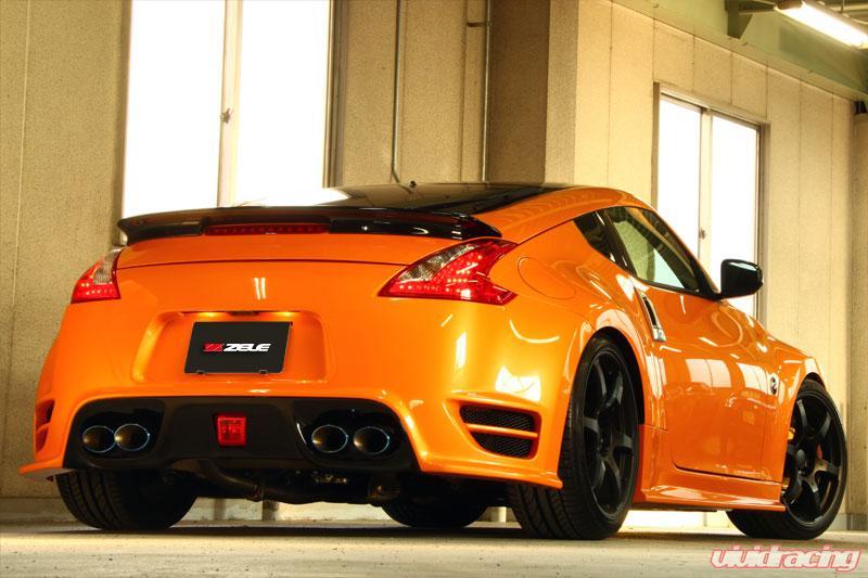Zele Performance Carbon Fiber Rear Spoiler Nissan 370z 09 12